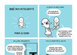 Enlace a Bebé muy inteligente