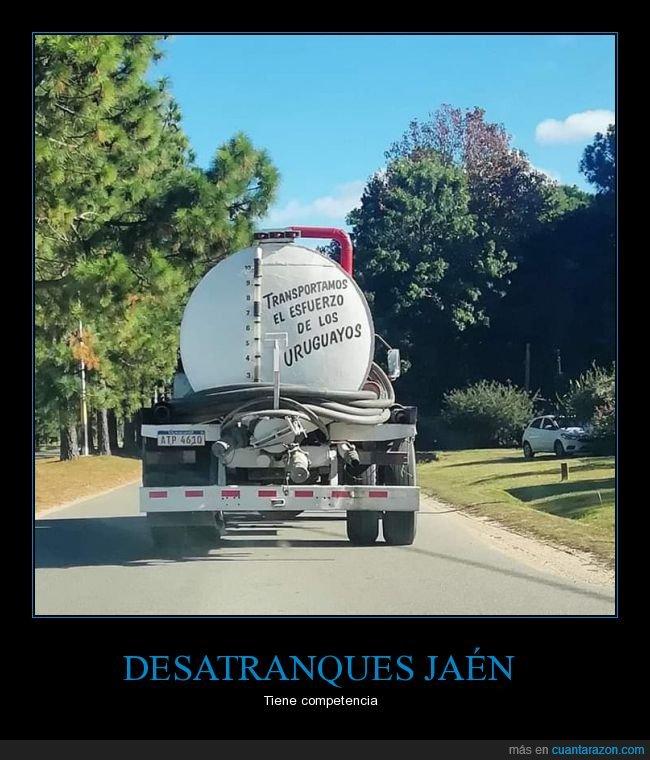 camión,esfuerzo,transportar,uruguayos