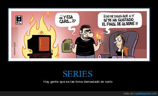ardiendo,final,gustar,serie,televisión