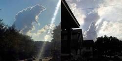 Enlace a Nubes con formas caprichosas