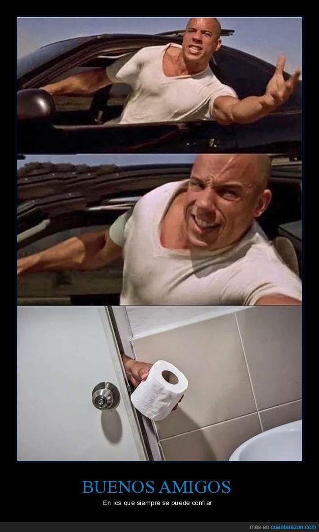 fast and furious,papel higiénico,toretto