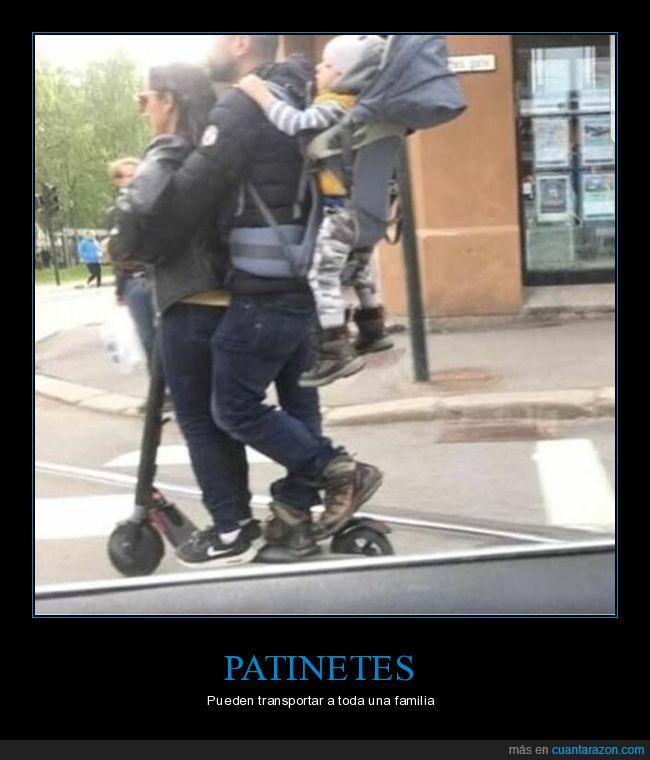 familia,patinete,wtf
