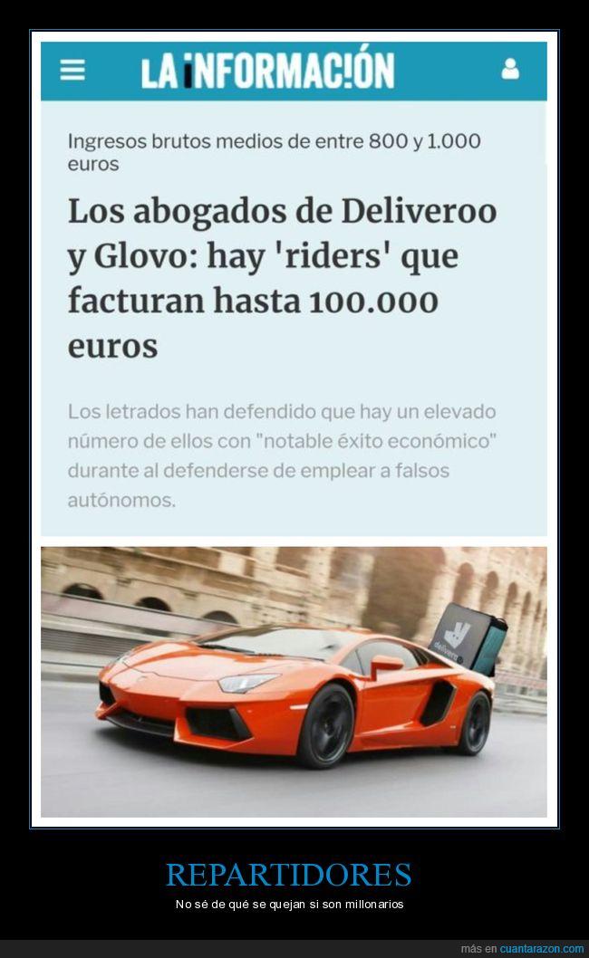 100000 euros,abogados,deliveroo,facturar,glovo