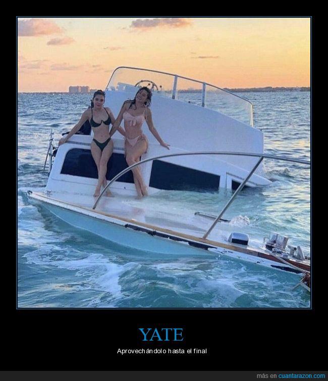 barco,hundiéndose,posando,wtf