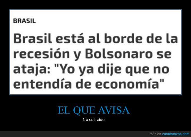 bolsonaro,brasil,economía,entender,políticos,recesión