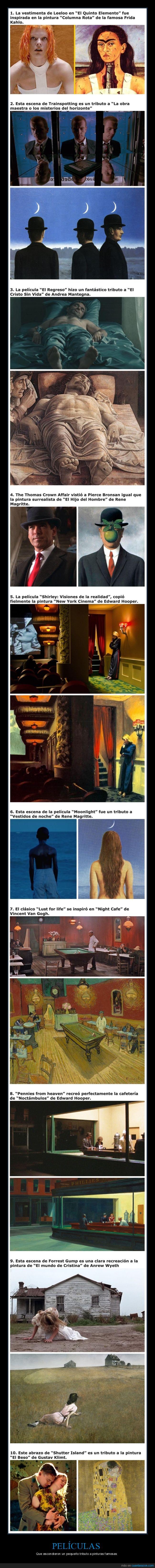 arte,cuadros,películas,pinturas,tributos