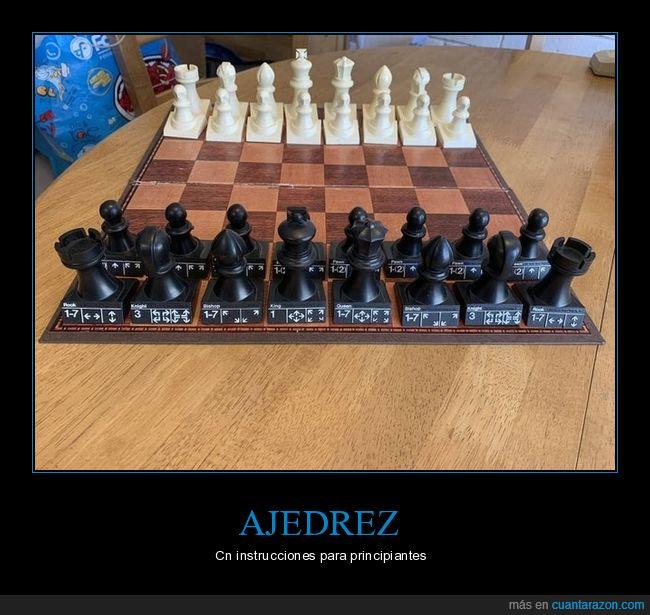 ajedres,instrucciones