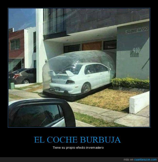burbuja,coche,protector