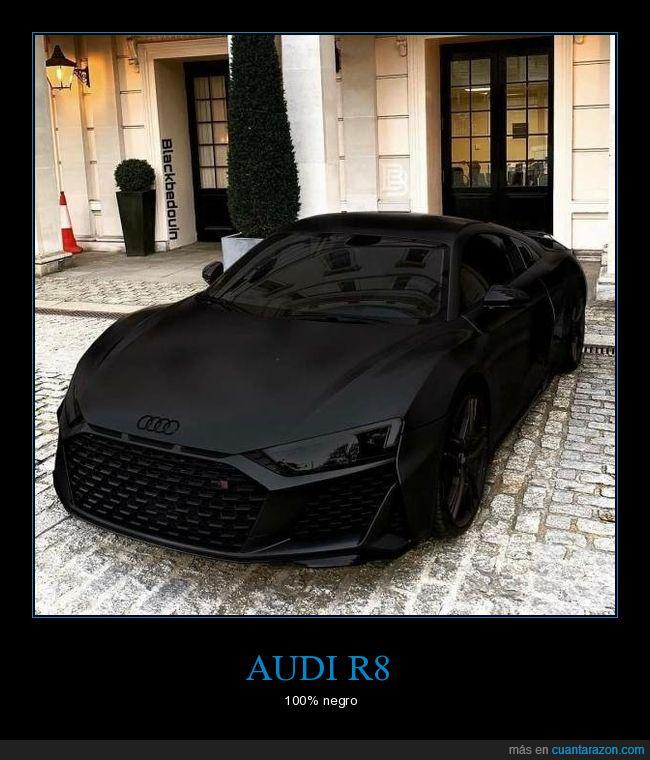 audi,coche,negro