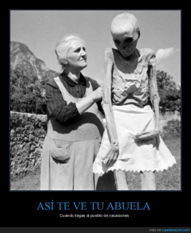 abuela,cadáver,pueblo