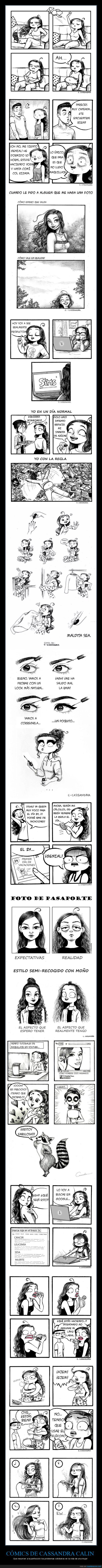 cassandra calin,cómics,mujeres,problemas