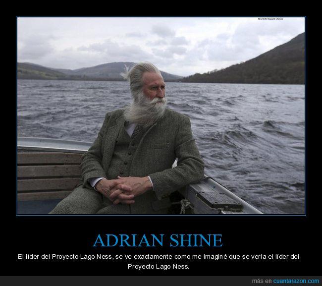 adrian shine,imaginar,lago ness,proyecto lago ness