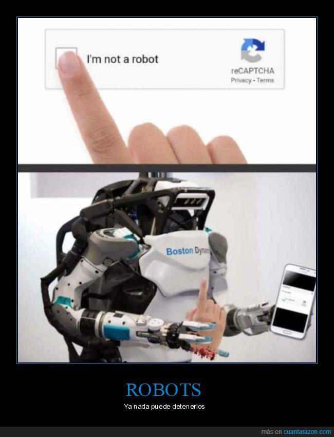 captcha,mano,robot