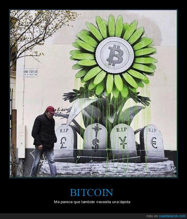 bitcoin,lápidas,monedas,mural