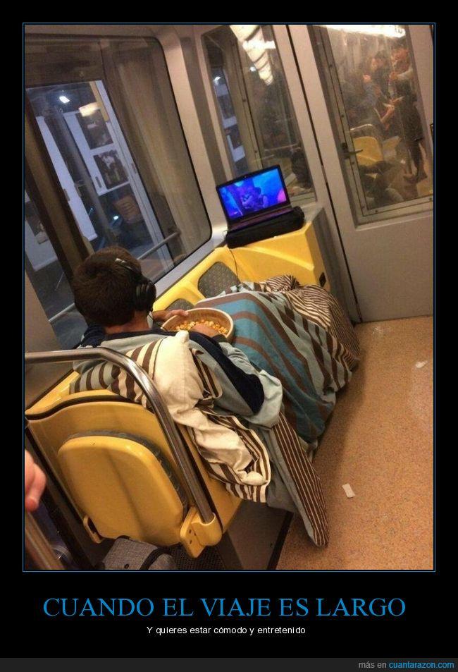 metro,ordenador,palomitas,película,wtf
