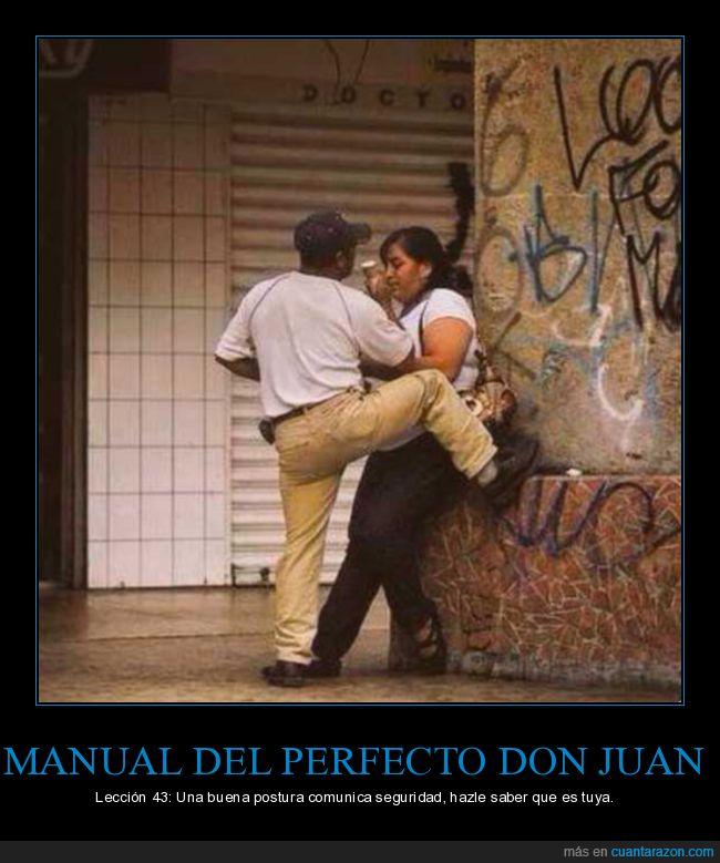 don juan,postura,seguridad