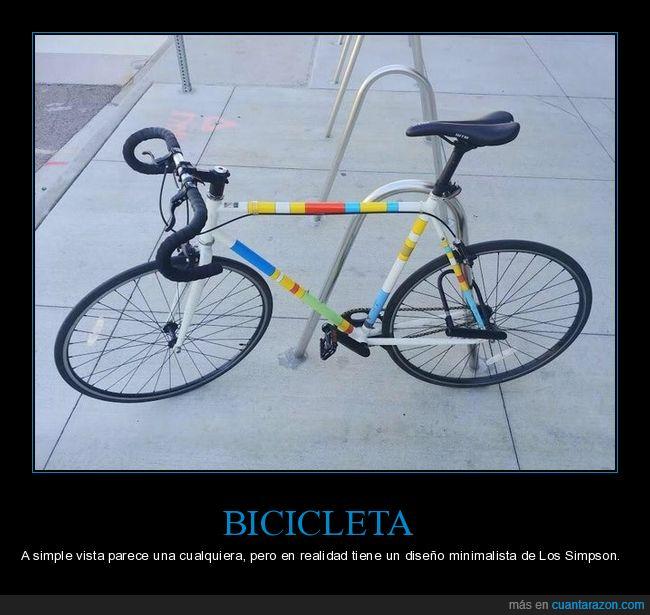 bicicleta,diseño,simpsons