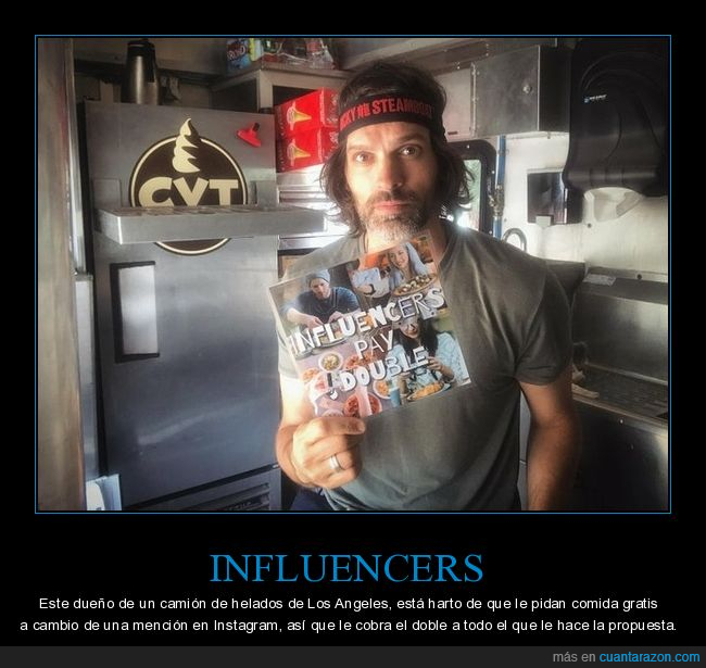 cobrar,doble,influencers