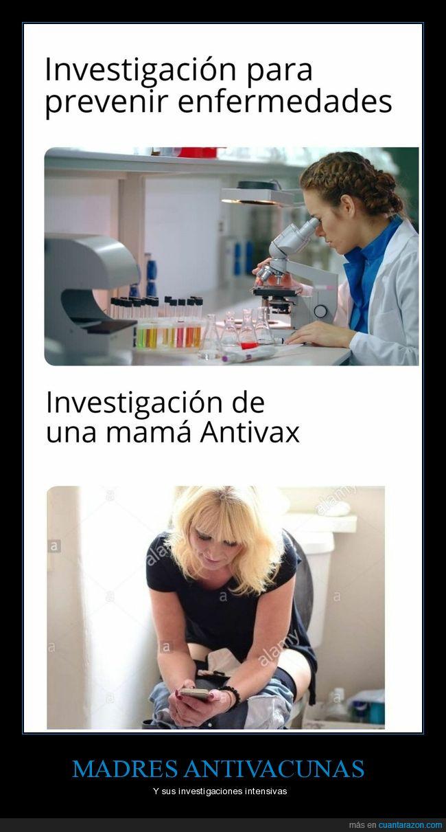 antivacunas,enfermedades,investigación,madres,prevenir