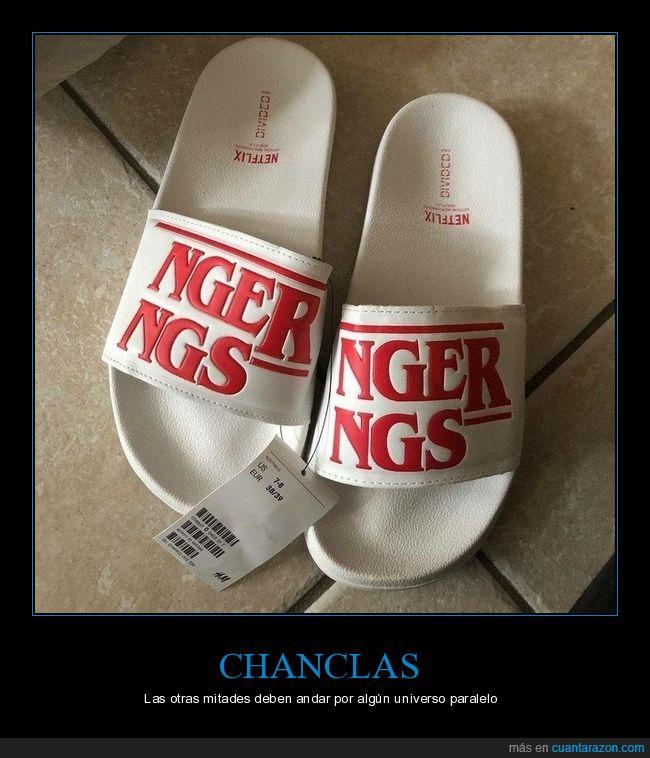 chanclas,fails,stranger things