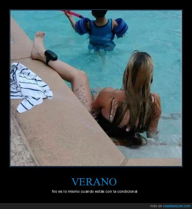 piscina,tobillera,verano