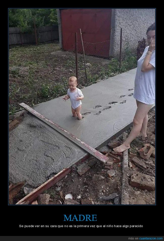 cemento,fails,niño