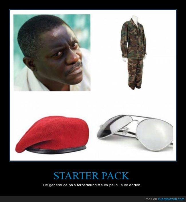 general,película,starter pack,tercermundista