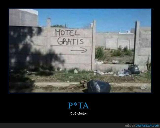 gratis,motel,wtf