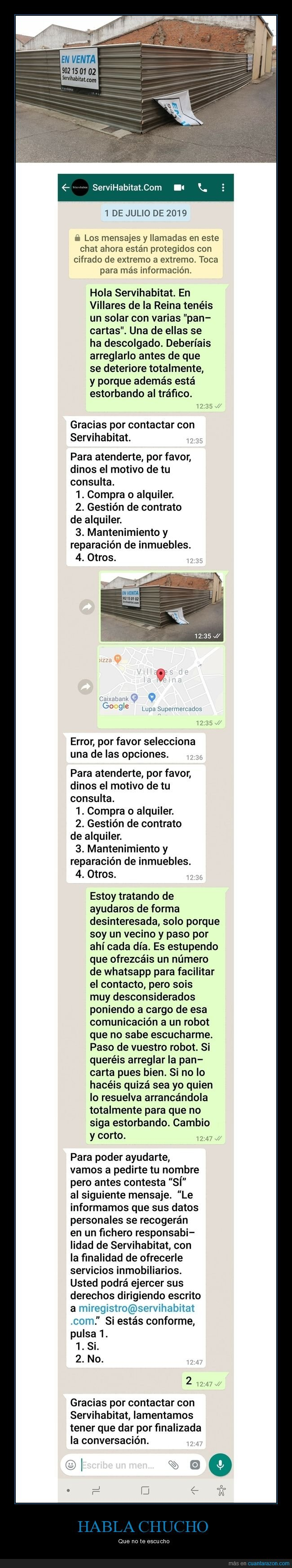 bot,servihabitat,whatsapp
