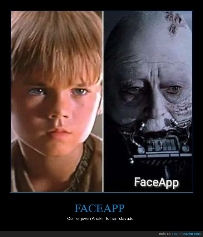 anakin skywalker,darth vader,faceapp,filtro,viejos