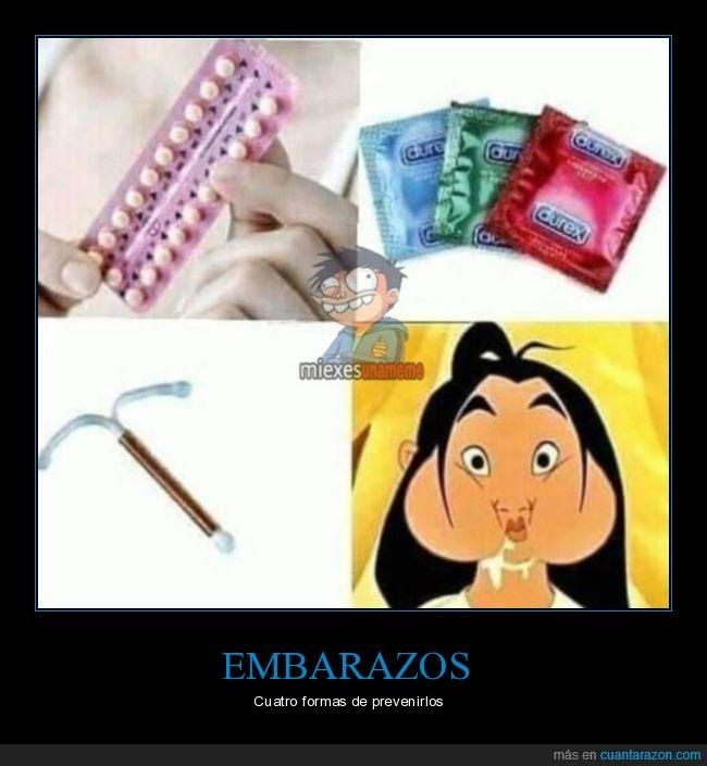 condones,diu,embarazo,pastilas,prevenir,tragar