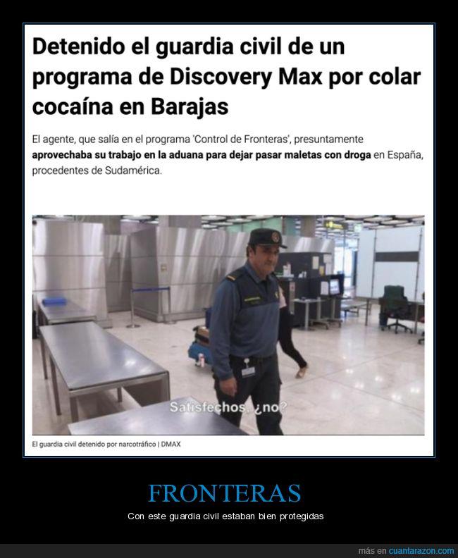 detenido,discovery max,drogas,guardia civil