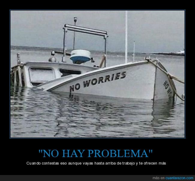 barco,hundirse,no worries,trabajo