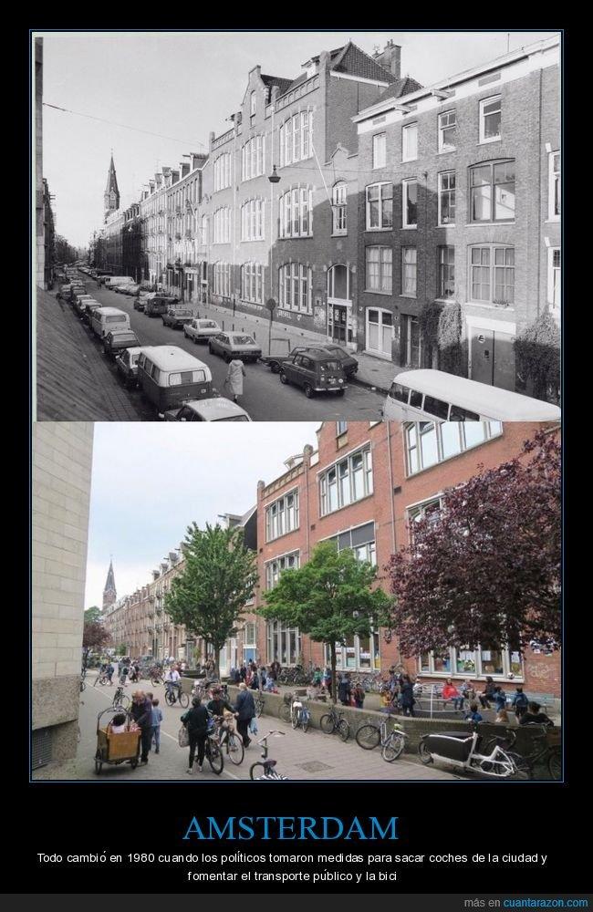 amsterdam,bicicletas,cambio,ciudad