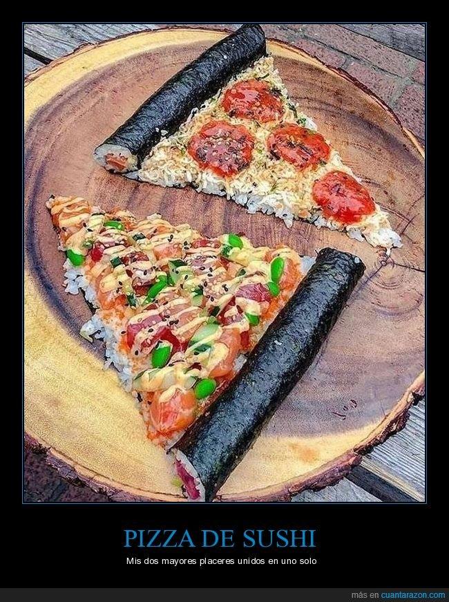 comida,foodpron,mmmmm,pizza,sushi