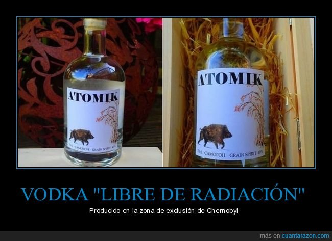 chernobyl,radiación,vodka