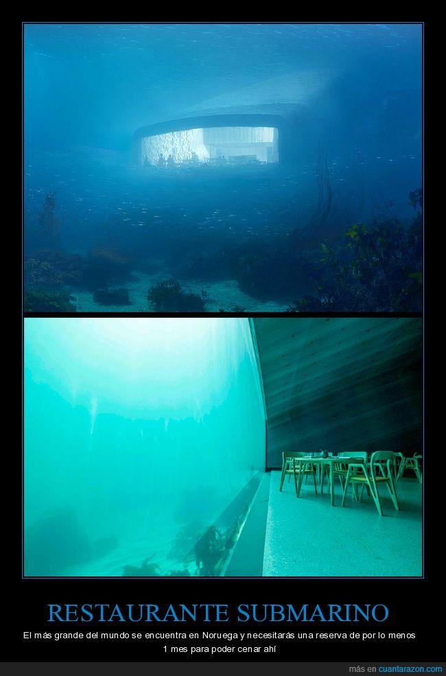 noruega,restaurante,submarino