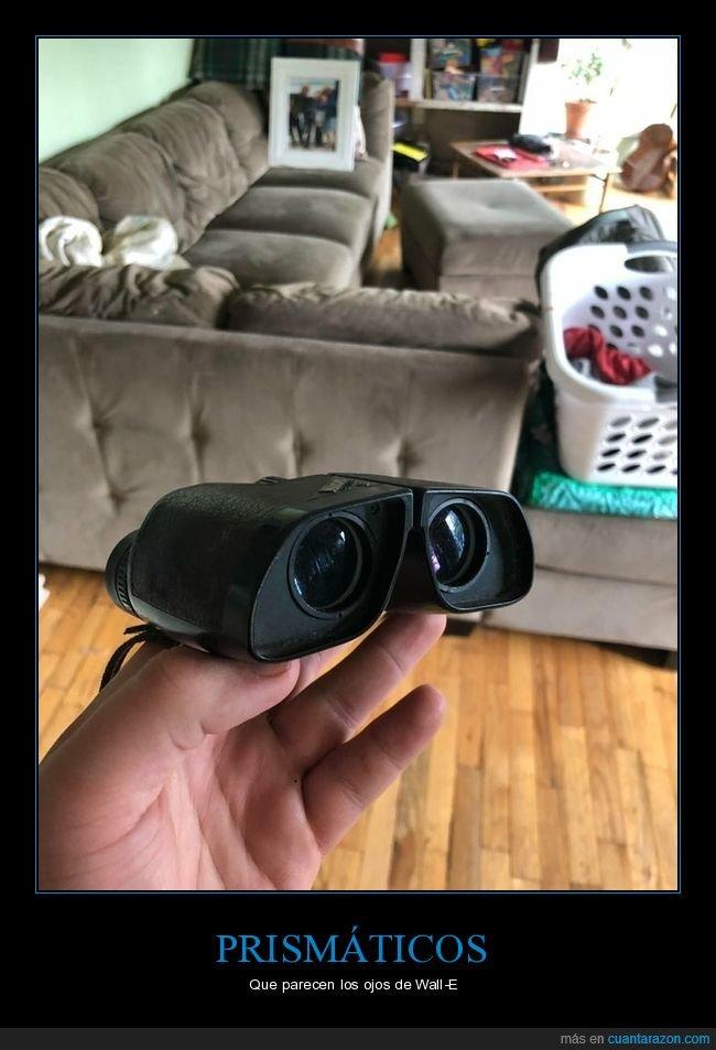 parecidos,prismáticos,wall-e