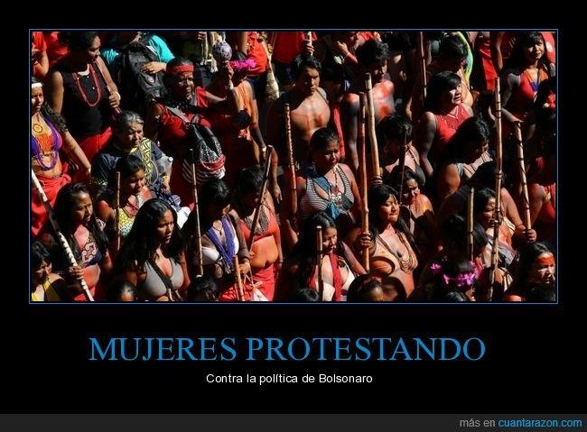 bolsonaro,brasil,brasilia,mujeres,protesta