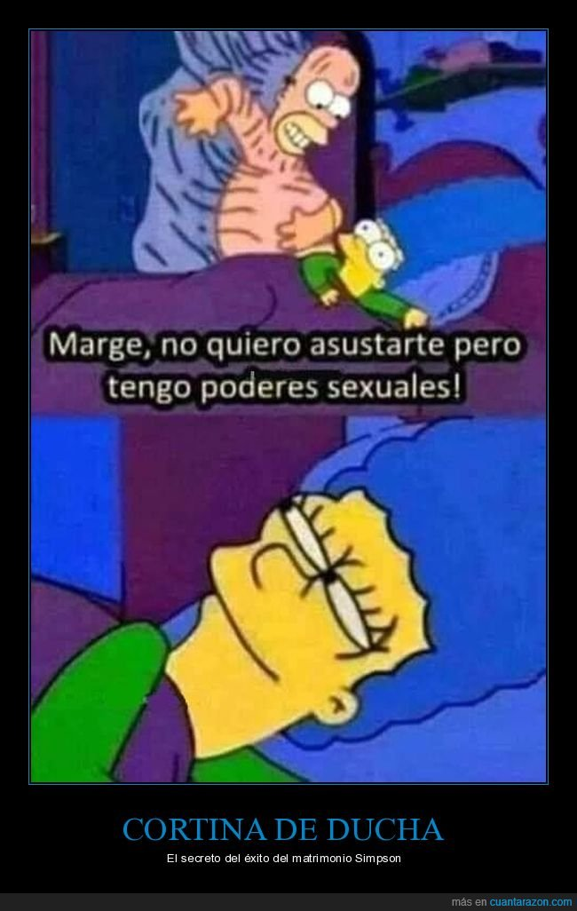 absurdo,homer,marge,poderes sexuales,simpsons