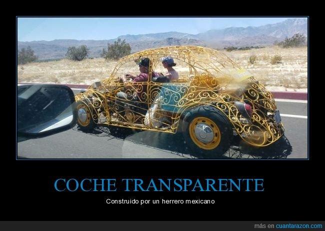 coche,herrero,transparente
