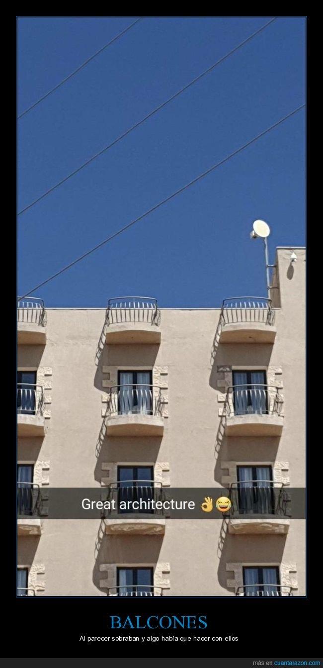 balcones,edificio,fails