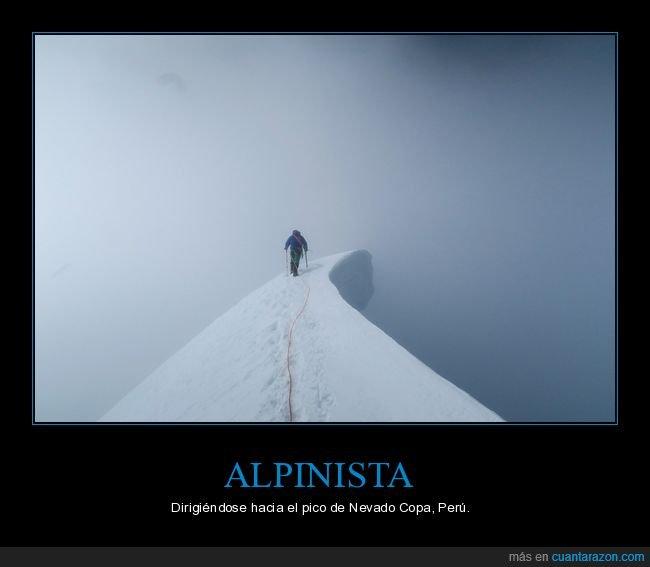alpinista,montaña,nevado copa,perú
