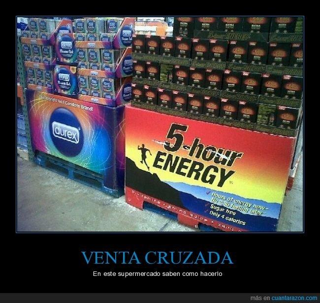 bebida energética,durex,supermercado