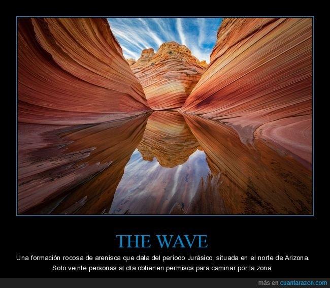 arizona,curiosidades,formación rocosa,the wave