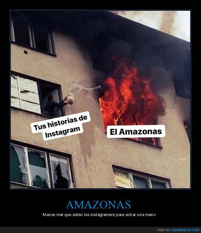 amazonas,historias,incendio,instagram
