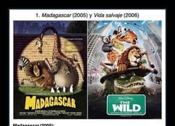 Enlace a Pares de películas que son tan similares que resultan sospechosas
