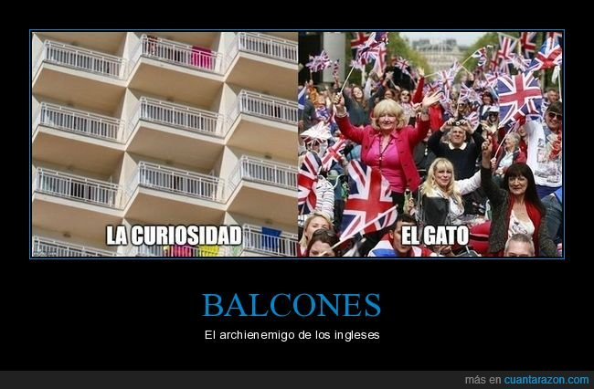 balcones,balconing,curiosidad,gato,ingleses
