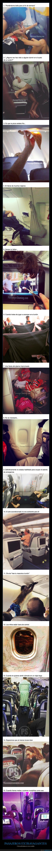 avión,azafata,pasajeros