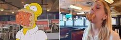 Enlace a Amigas viajaron a Nueva Orleans y para recrear este capítulo de Los Simpson